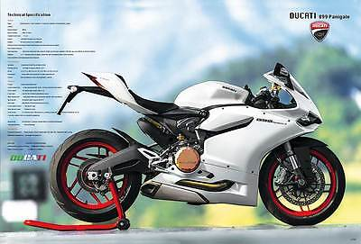 "DUCATI 899 PANIGALE MOTORCYCLE BIKE THE POSTER 24""x36"" NEW SIDE SHEET J-4735"
