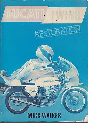 Ducati 350 500 600 750 860 900 1000 Twin (1971-1985) Owners Restoration Book