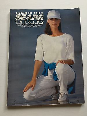Sears Vintage 1992 Summer Catalog - 303 pages!
