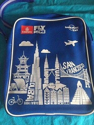 Emirates Airlines Kids Travel Bag Tote Fly With Me Souvenir AND CONTENTS