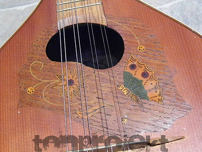 fine old all solid MUSIMA MEISTER 8string MANDOLIN Mandoline Germany 1930s