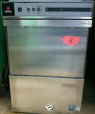 Fagor Commercial Undercounter High Temp  Dishwasher  Co-502W Ad-21W