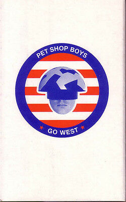 Pet Shop Boys, Single Cassette, Go West/ UK, Cardsleeve