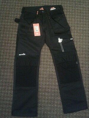 """Scruffs 3D Trade Trousers 30"""" Reg NEW WITH TAGS"""
