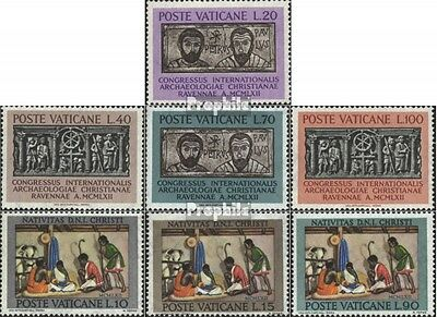 Vatican 408-411, 420-422 (complete issue) used 1962 special sta