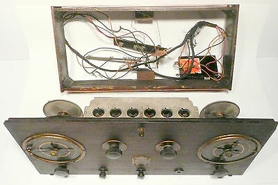 Vintage * RCA RADIOLA AR 812 RADIO CHASSIS & AREIAL - Untested / Clean Unit