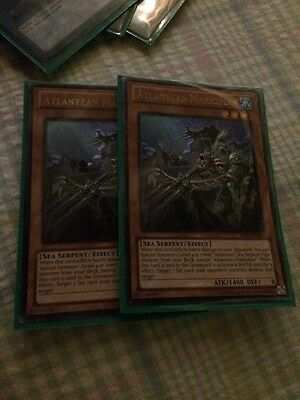 Yugioh Atlantean Marksman Ultimate NM AP03-EN001 2x