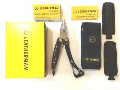 Leatherman Skeletool CX Multi Tool Multitool Knife +42 End Bit Kit +Nylon Sheath