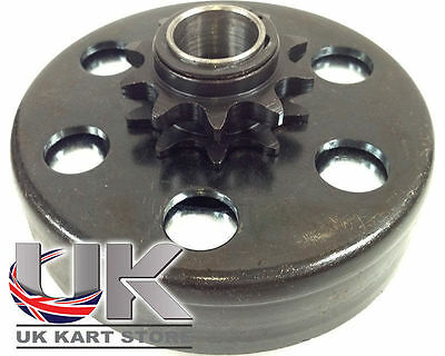 Max-Torque 10t Paso 420 Embrague Centrífugo Resorte Negro UK KART STORE