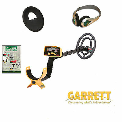 Garrett Ace 150 Metal Detector - with Coil cover, Phones & Book