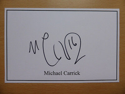 Hand Signed Football Index Cards *****C***** Page 1