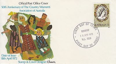 Country Woman's Association of Australia FDC 1972