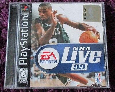 NBA Live 99 (Sony PlayStation 1, 1998)
