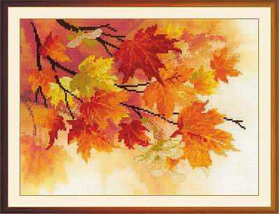 """Counted Cross Stitch Kit RIOLIS 0054 - """"Autumn Colors"""""""