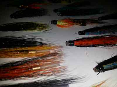 20 x Flextec Assorted Tube Fishing Fly Selection for Sea Trout & Salmon