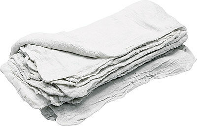 Allstar Performance White Cloth Shop Towels 25 Pc Part Number 12011