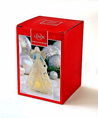 """Lenox Gifts Of Grace """"this Little Light Of Mine"""" Angel Votive With Tea Light New"""