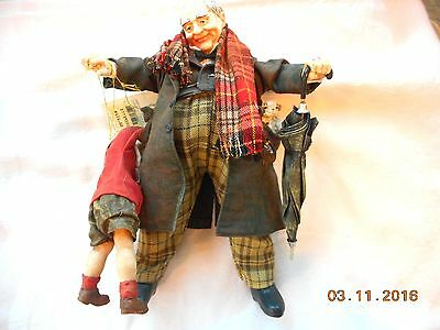 """Rare Clothtique Sculpture -Norman Rockwell """"the Gift"""""""