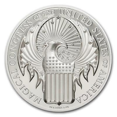 Cook Isl 2017 $5 Fantastic Beasts & Where to Find Them 1Oz Silver Coin