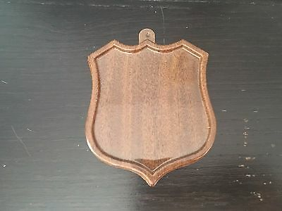 Rare 1972-73 Opc Plastic Shield For Hockey Card Player Crest O-Pee-Chee Push-Out