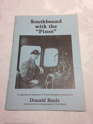"""Southbound with the """"Pines"""" by Donald Beale (Somerset & Dorset Joint Railway)"""