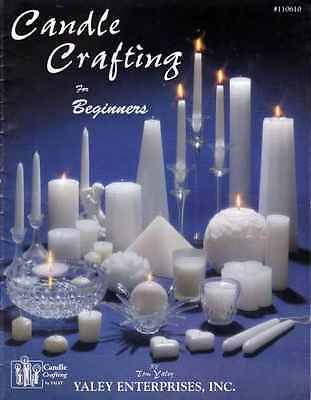 CANDLE CRAFTING Design INSTRUCTION Art of Candle Making for Beginners