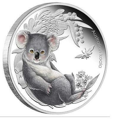 Australia 2011 50c Bush Babies Koala 1/2 Oz Proof Silver Coin ***LIMITED***
