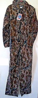BOYS' CAMOUFLAGE HUNTING WOODLAND COVERALLS - FULL BODY - Size X-Large