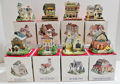 Liberty Falls the Americana Collection - 8 Buildings in Original Boxes - 1992