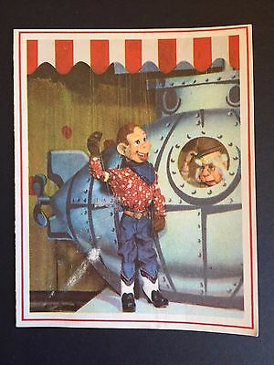 "1950's Howdy Doody, ""Un-Used"" Christmas Card"