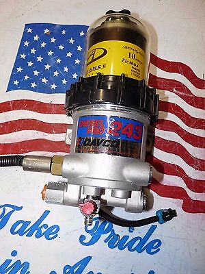DAVCO DIESEL PRO 243 FUEL WATER SEPARATOR WITH THE HEATER davco243 WATER SENSOR