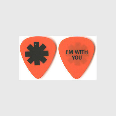 Red Hot Chili Peppers * authentic 2012 tour Guitar Pick
