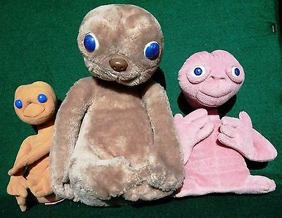 E.T. Push Toy Collection 1980's