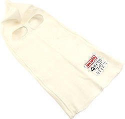 Simpson Safety White Dual Eyeport Head Sock Part Number 23003W