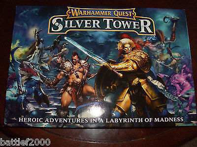 Warhammer Quest Silver Tower  Full  brand new game