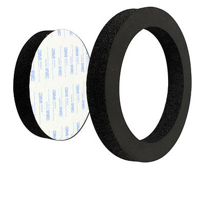 """1PCS 6"""" 6.5"""" inch Car Universal Speaker Insulation Ring Soundproof Cotton Pad"""