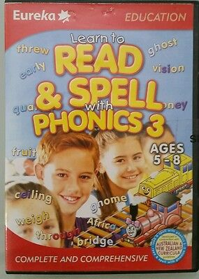 Read And Spelling With Phonics 5 To 8 Yrs Kids Educational Pc Computer Game