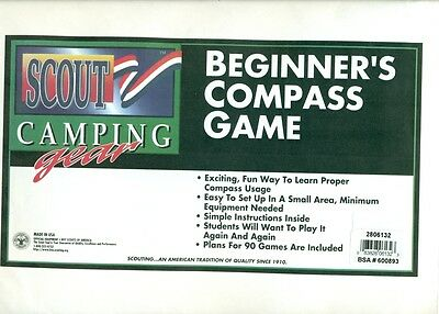 Official Scout Beginner's Compass Game - New