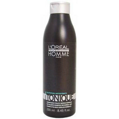 L'Oreal Professionnel Homme Tonique Revitalizing Shampoo for Normal Hair 250 ml