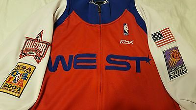 2006  NBA All Star Authentic Warm Up Jacket Size 3XL from 2005-2006 season Suns