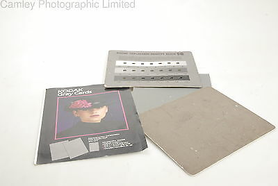 Kodak 8×10 Gray Cards & Reflection Density Card. Condition – 6E [5162]