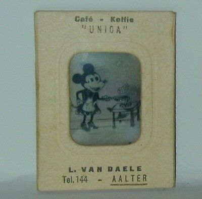 Mickey Mouse Vari Vue Flicker Picture #4 Coffee Brand Premium 1930s Germany