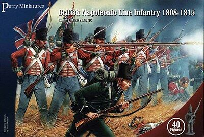 Perry Miniatures British Napoleonic Line Infantry 1808-1815 28mm Scale BH100