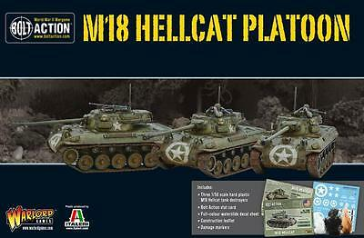 Warlord Games Bolt Action US M18 Hellcat Platoon 28mm Scale Miniatures