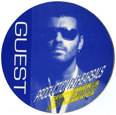 George Michael Hard To Find Cover To Cover 1991 Tour Guest Backstage Pass