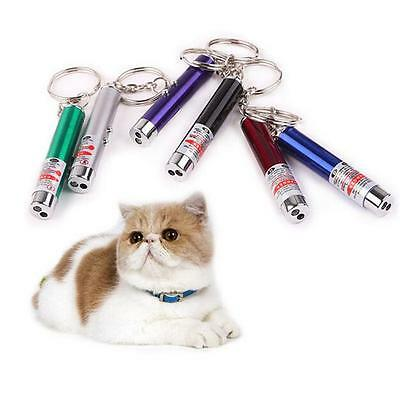Small Mini Colorful Laser Pointer Pen LED Money Detector Child Pet Cat Toys H