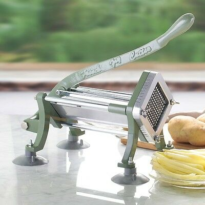 French Fry Cutter Stainless Steel and Cast Iron Sweet Potato Commercial Durable