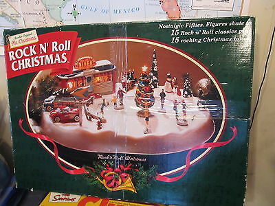 Rock N Roll Christmas Mr Christmas COMPLETE TESTED WORKS NICE CONDITION