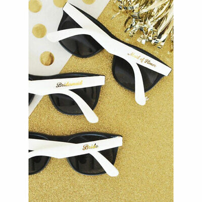 Set of 6 Bridal Party Sunglasses Bridesmaid Gifts Wedding Party Gifts