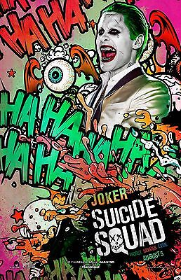 "Suicide Squad Movie Poster - Jared Leto - Joker (b) - 11"" x 17"""